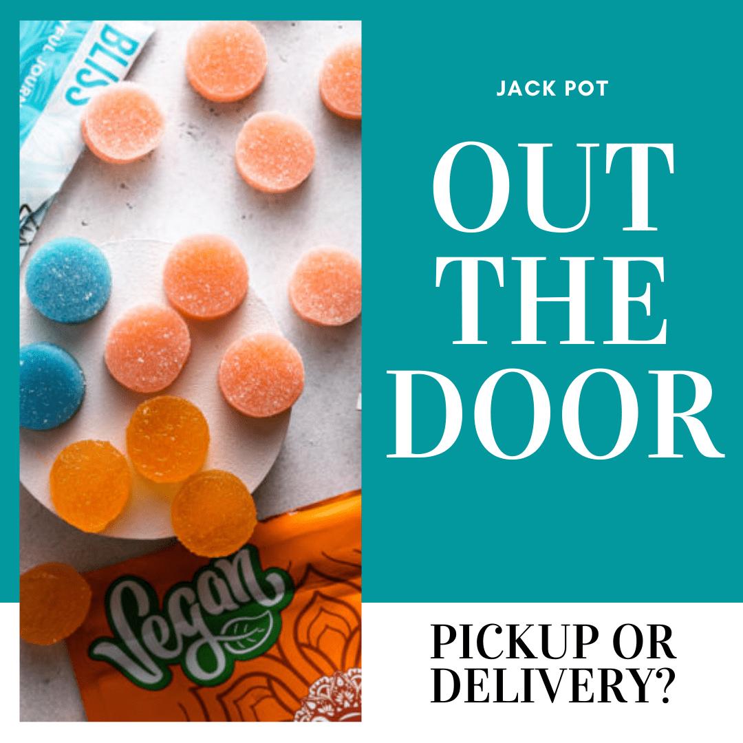 Jack pot out of door